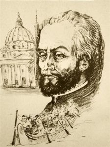 sketch of Father Francesco Bressani