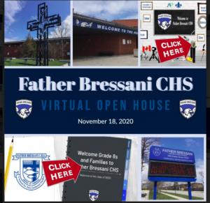 Father Bressani Virtual Grade 8 Open House